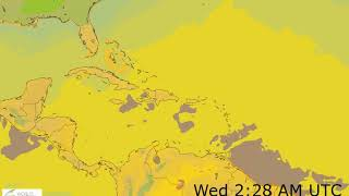 Caribbean Surface Temperature Weather Forecast HD: 18 Nov 2019 [Updated at 0000 hours UTC]