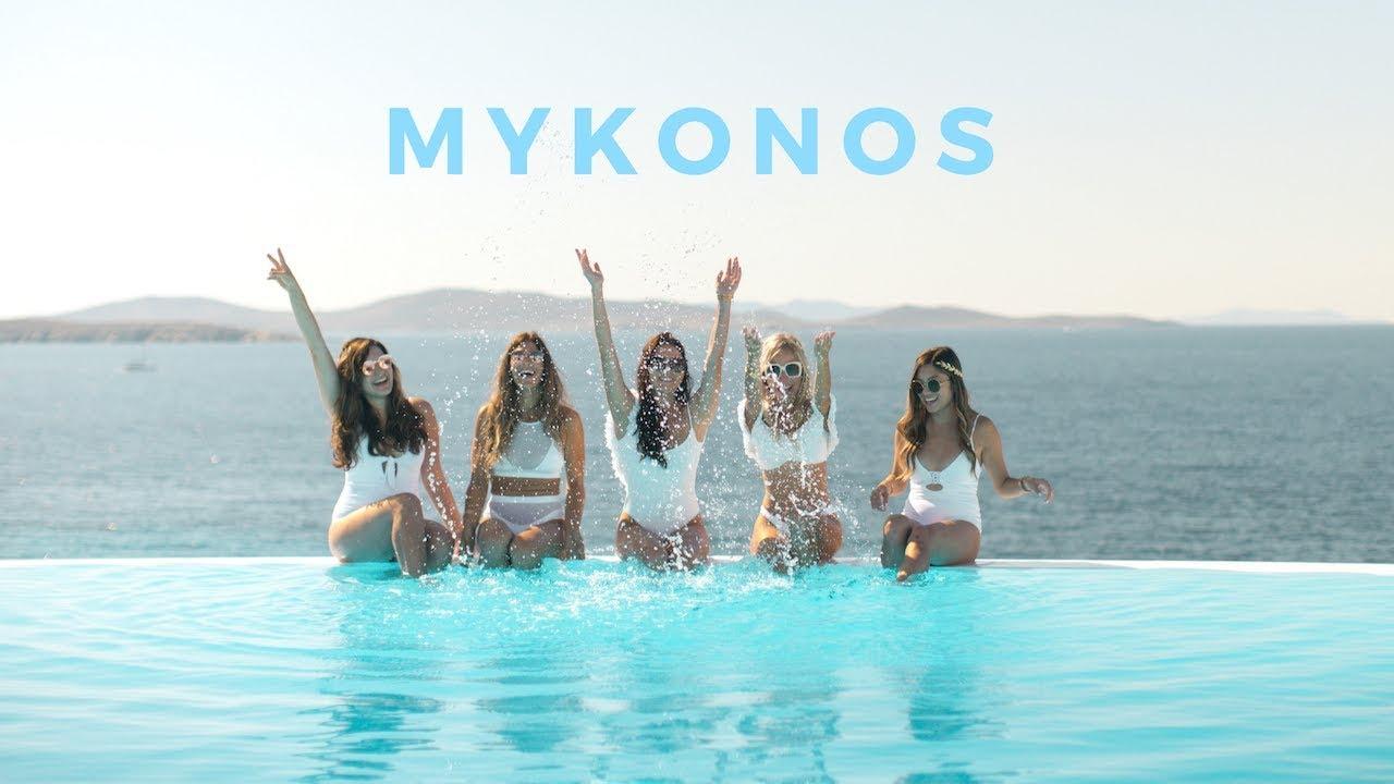 Mykonos girls