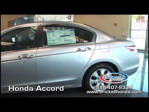 2010 Honda Accord Review Brickell Honda Miami Florida