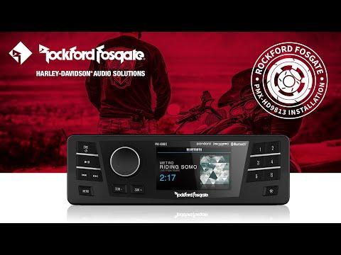 Punch Marine Compact AM/FM/WB Digital Media Receiver 2 7