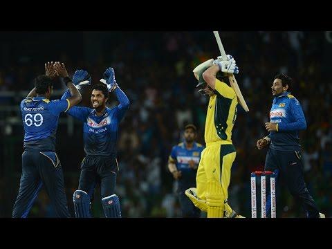 Sri Lanka Vs Australia | 3rd ODI | Live Scores And Updates | Aug 28 2016 |