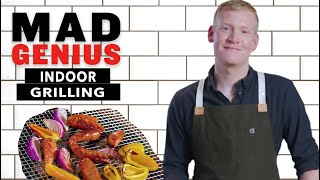 How to Grill Indoors | Mad Genius Tips | Food & Wine