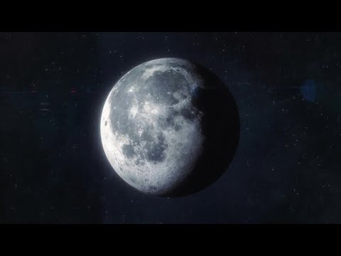 Approaching The Moon Motion Graphics