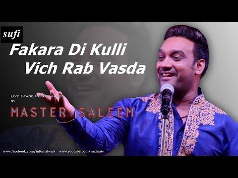 Master Saleem - Fakara Di Kulli Vich Rab Vasda