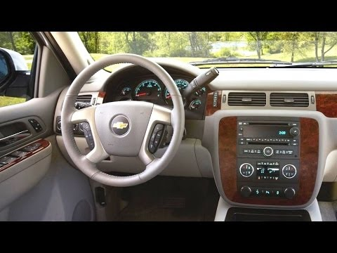 Chevrolet Tahoe 2014 Interior Youtube
