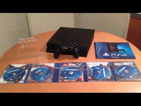 PS4 Unboxing!! (Playstation 4 Unboxing) - YouTube