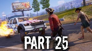 State of Decay 2 Gameplay Walkthrough Part 25 (INDEPENDENCE PACK) 3 New Weapons & Cars
