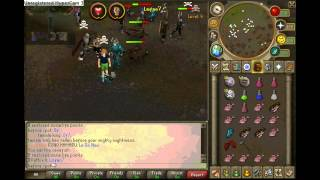 Before I Pot PK Video 1- Turmoil Zerker in Progress
