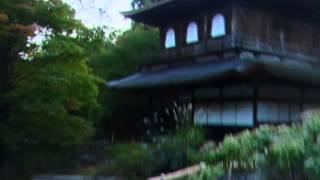 京都慈照寺のライトアップ