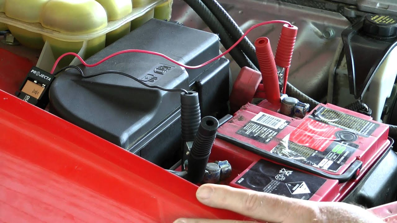 How to change your car battery without losing your radio code and dashboard  setting  HD