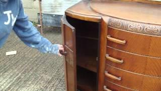 Retro Oak Sideboard