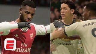 Arsenal vs. Manchester United: Nemanja Matic worldie incoming! | FIFA 20 Predictions
