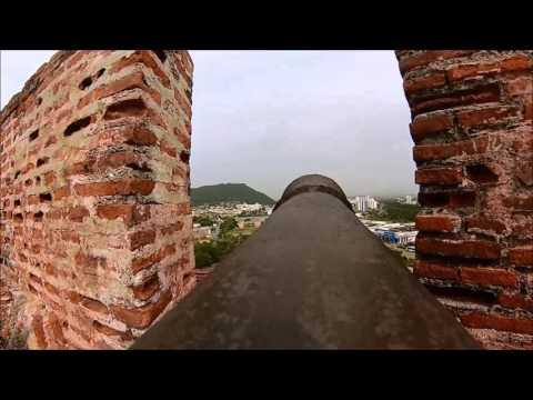 Conhecendo o Castillo San Felipe de Barajas em Cartagena, Colombia! Blog Volto Segunda