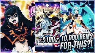 Yu-Gi-Oh! Duel Links   NEW BOX Valhalla Calling Opening! 10,000+ Gems & $100 Later..