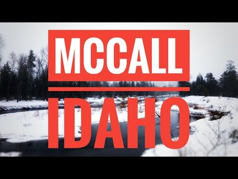 McCall Idaho (Winter Wonderland)