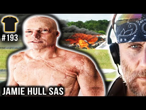 SAS Operator JUMPS From BURNING PLANE   Jamie Hull Special Air Service   Bought The T-Shirt Podcast