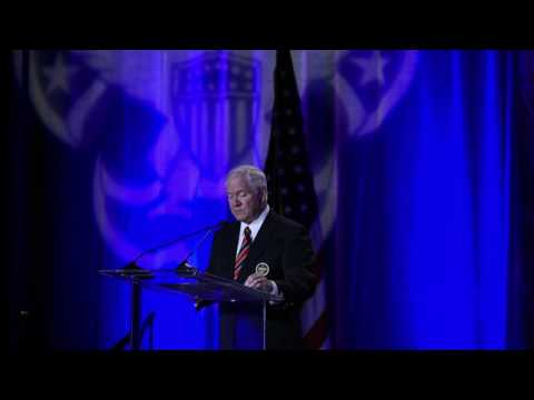 Dr. Robert M. Gates at 2016 Boy Scouts of America National Annual Meeting