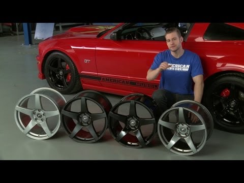 Mustang Forgestar CF5 Monoblock Wheels - Gunmetal, Black, and Silver (05-13 All) Review