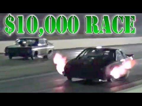 BIRDMAN's $10,000 Win – 3200hp Turbo Camaro!