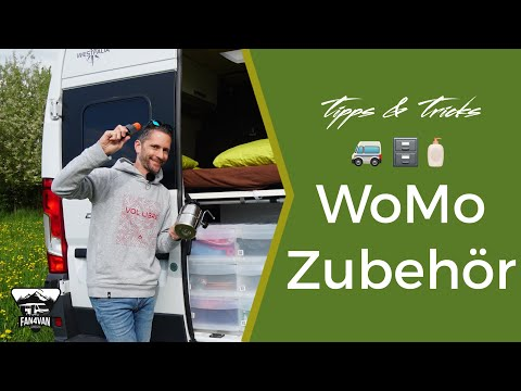 Wohnmobil Zubehör - Meine 10 BESTEN Helfer Auf Reisen
