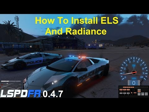 Installing ELS, Radiance, And A Lamborghini Police Car.