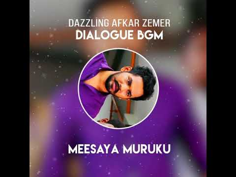 Meesaya Muruku Dialogue For Bgm