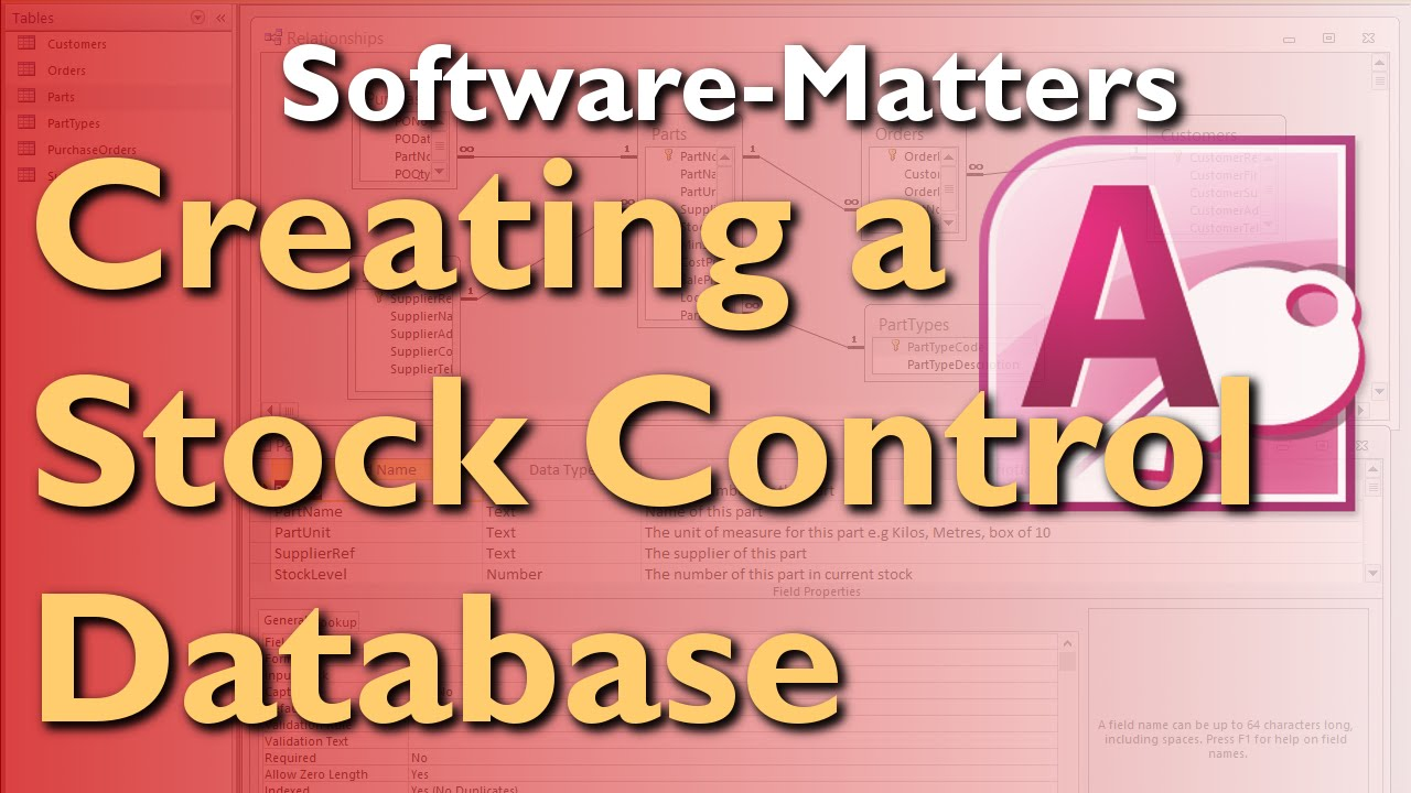 software version control template - how to create a stock management database in microsoft