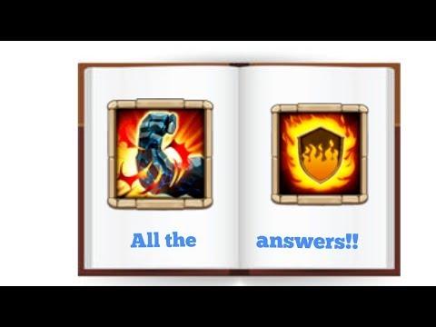 Castle Clash FLAMEGUARD VS STONESKIN THE ANSWERS!! Last PART!!!