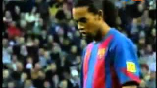 Top 10 free kicks from football player ronaldhino