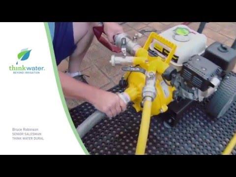 Think Water - Davey Firefighting Demonstration Video