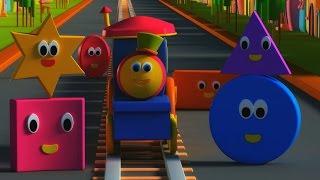 Bob, The Train Shapes Song | Bob , il treno | Forme