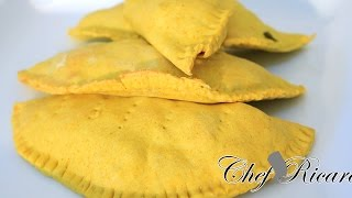 Jamaican Beef Patties Recipe from Chef Ricardo Cooking