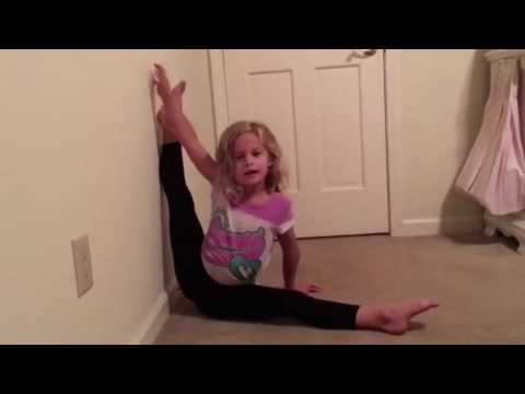 Isabelle amazing 6 year old gymnast