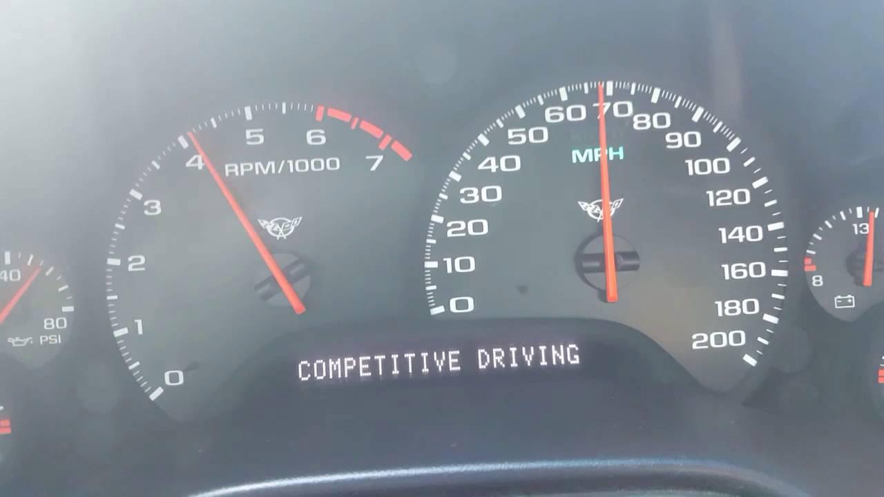 2002 C5 Corvette A4 0 60 160mph