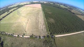 Crawfish Farm Drone Video 1