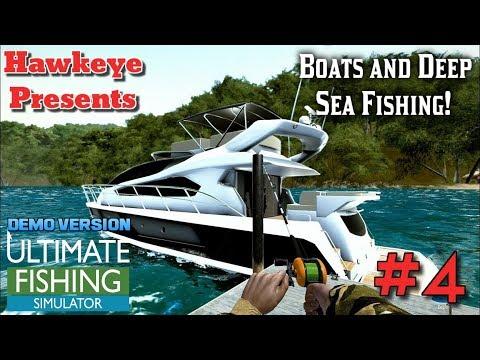 Ultimate Fishing Simulator - DEMO Version - Boats and Deep Sea Fishing!