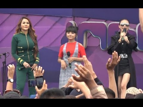 Tasya Rosmala - Jaran Goyang FT Nita & Mozza LIVE SPN Purwokerto