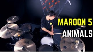Download Maroon 5 - Animals | Matt McGuire Drum Cover Mp3 and Videos