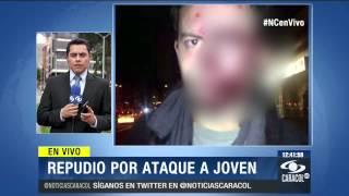 Estos serían los dos jóvenes que le propinaron brutal golpiza a Alejandro Vargas - 29 de Sep de 2014
