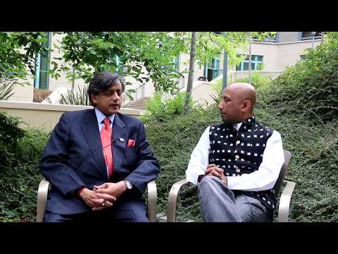Dr. Shashi Tharoor Latest Interview at US India Conference, UC Berkeley
