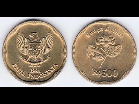 Gambar Uang Koin 500 Rupiah Benarkah Uang Logam 500 Rupiah Tahun 1991 Mengandung Emas Youtube