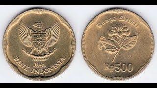 Benarkah Uang Logam 500 Rupiah Tahun 1991 Mengandung Emas?