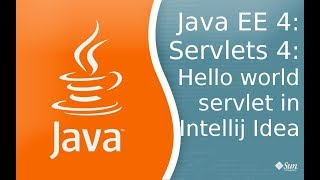 Java EE 4: Servlets 4: HelloWorld сервлет в Intellij Idea