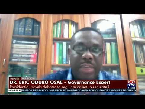 Presidential travels debate: We need to have a national conversation on the subject - Dr. Oduro Osae