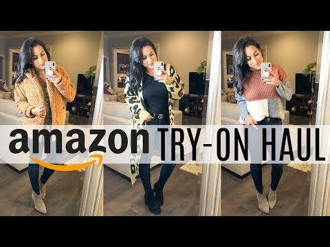 AMAZON TRY ON HAUL 2018 | GET THE LOOK FOR LESS | DESIGNER DUPES thumbnail