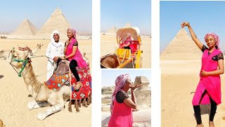 Hotunan Jaruma Rahama Sadau a kasar Egypt