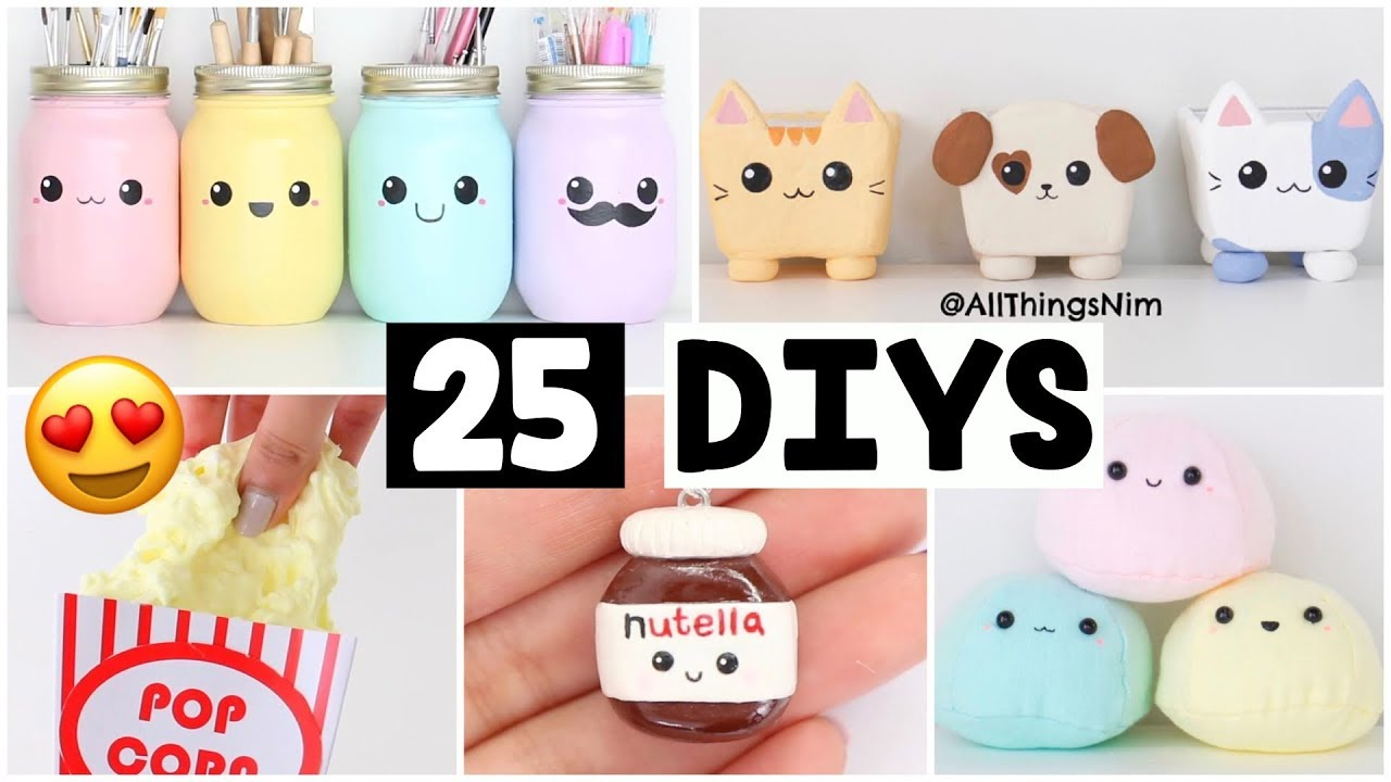 Making 25 Amazing Diy Slimes Squishies