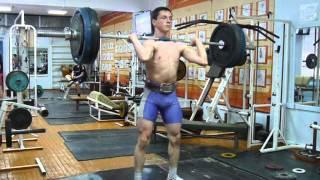Тяжёлая атлетика Самылов Слава, 16 л.,вк 69 Толчок 100 кг