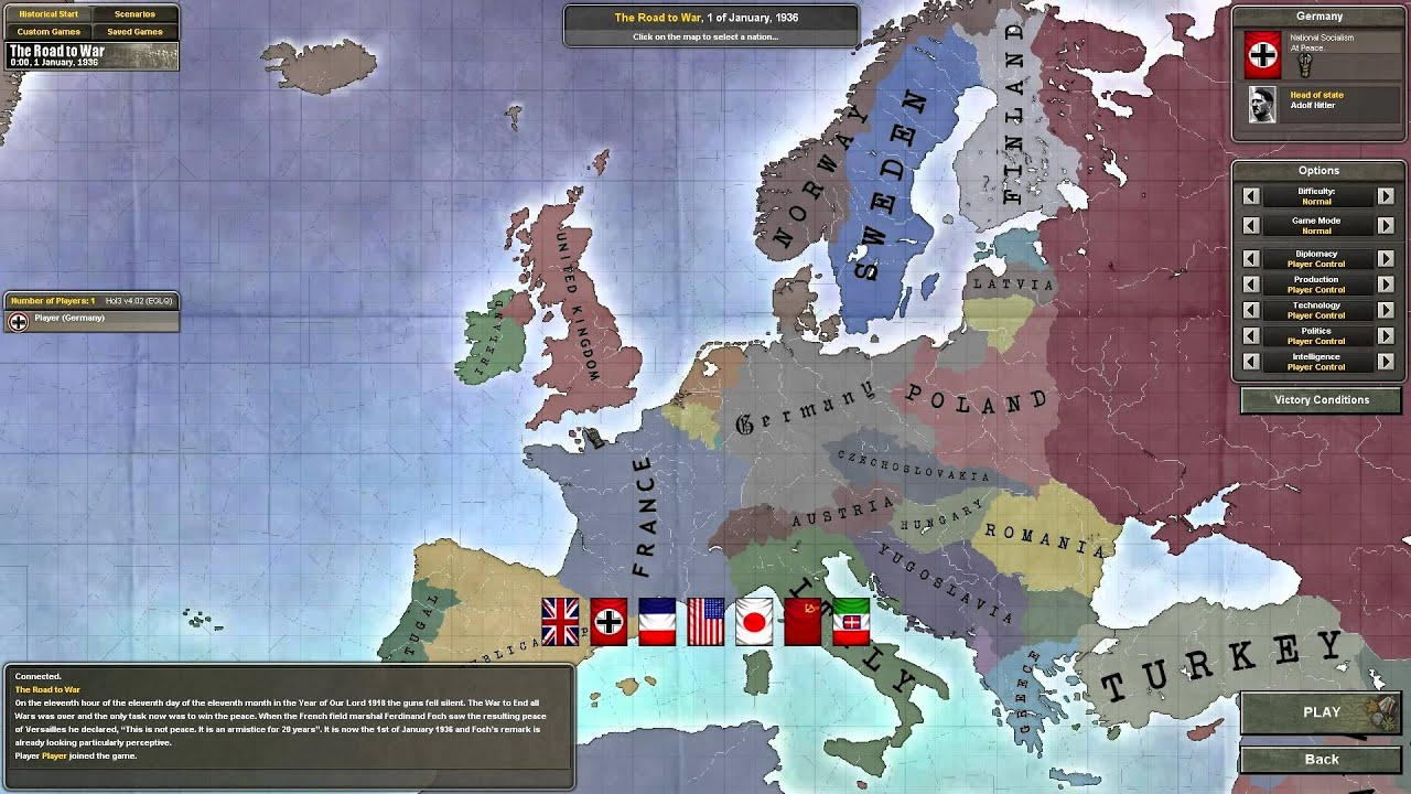 Hearts of Iron 3   Their Finest Hour   Germany   Part 1 ...