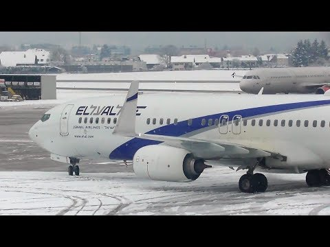 Plane Spotting at Salzburg Airport, SZG | Aircraft deicing & Ground movements